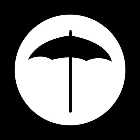 paraplu pictogram