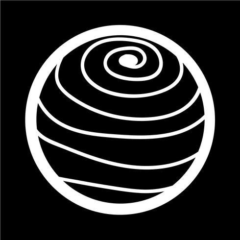 Icône abstraite Sphère