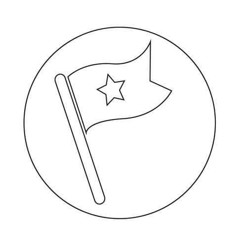 icono de bandera