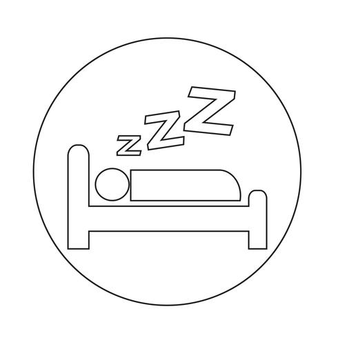 Icono de dormir
