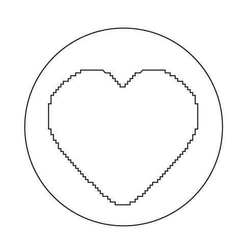 Herz wie Ikone