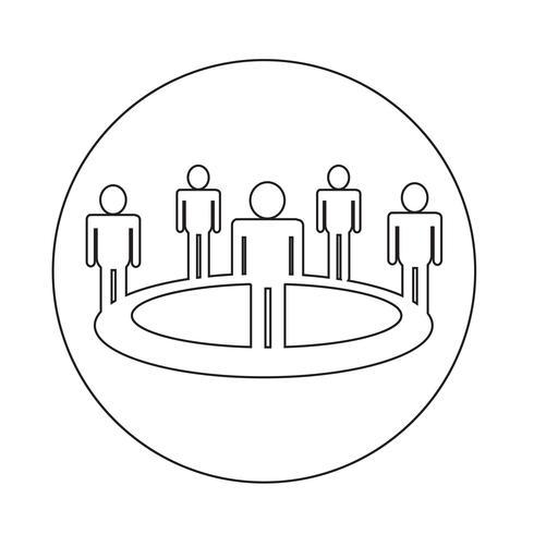Icono del equipo de personas
