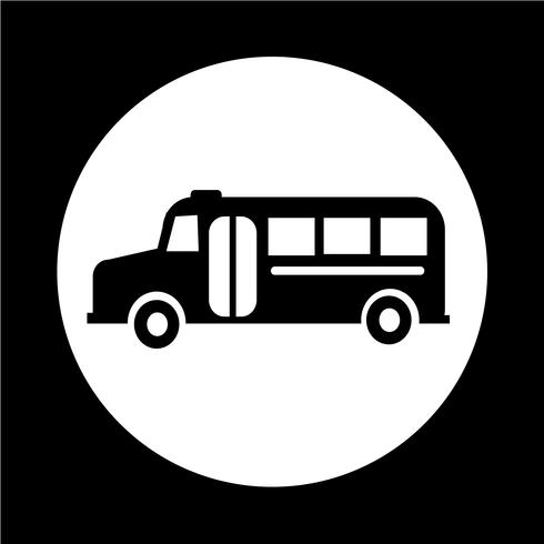 Icona di scuolabus