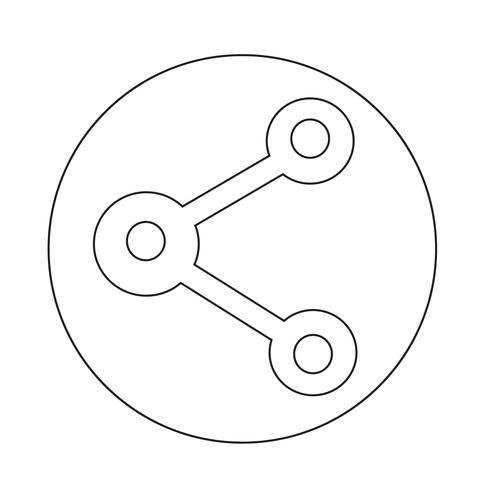 Web-Symbol teilen