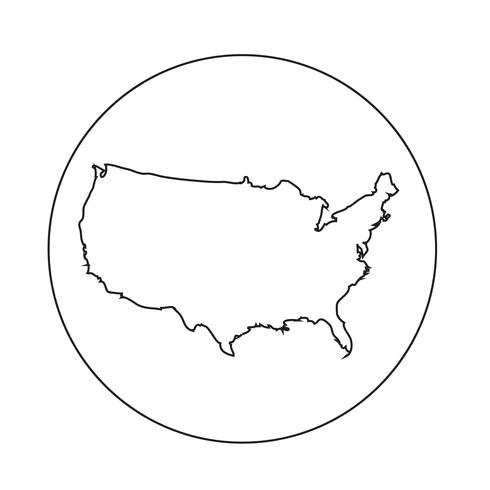 USA map icon - Download Free Vector Art, Stock Graphics & Images Icon Map Of Usa on gold map of usa, fallout map of usa, legend map of usa, clickable map of usa, editable map of usa, label map of usa, diocese map of usa, fire map of usa, doomsday map of usa, inset map of usa, illuminati map of usa,