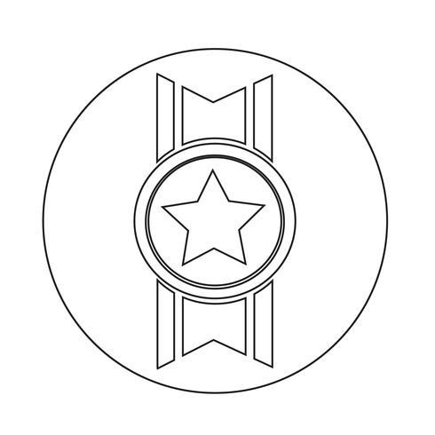 ícone de medalha