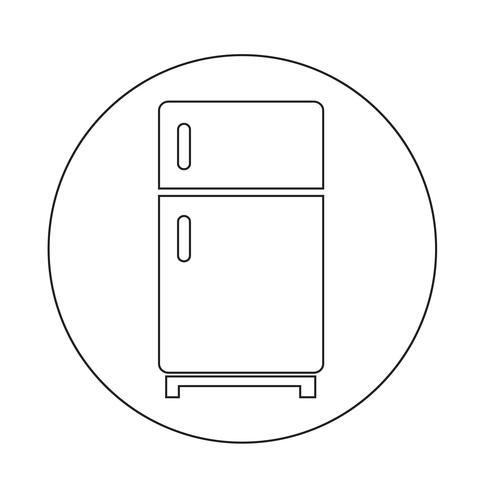 Kylskåp ikon