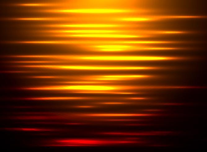 Abstrakte Hintergrundwasserreflexion bei Sonnenuntergang.