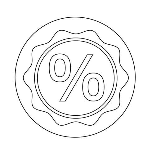 Icona di vendita bonus