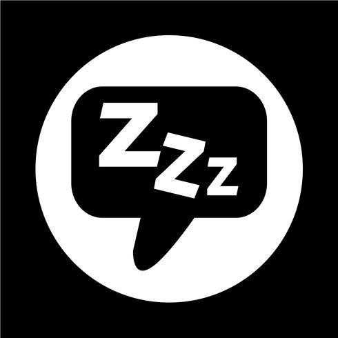 Icona del sonno vettore