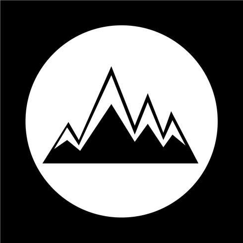 icona di montagne