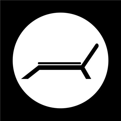 strand stol icon