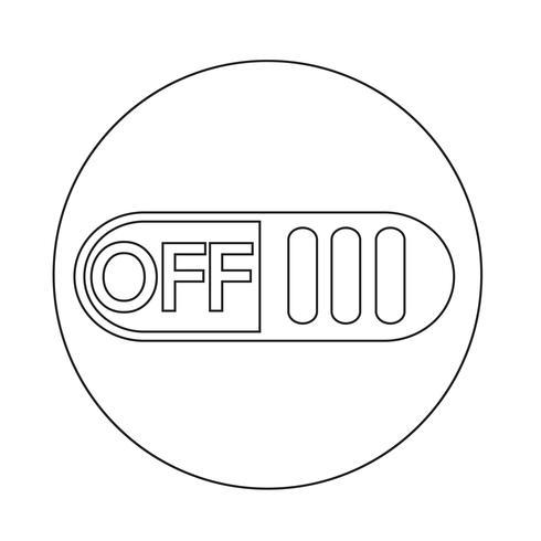 Bouton d'interrupteur