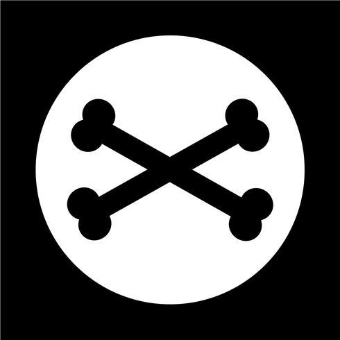 Icono de hueso