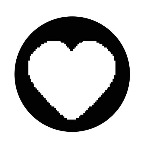 coeur comme icône
