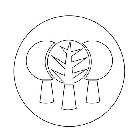 Icône d'arbre