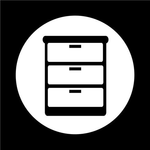 ícone de guarda-roupa