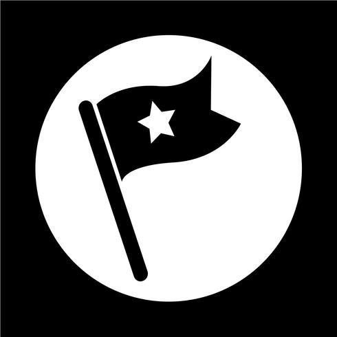 ícone de bandeira