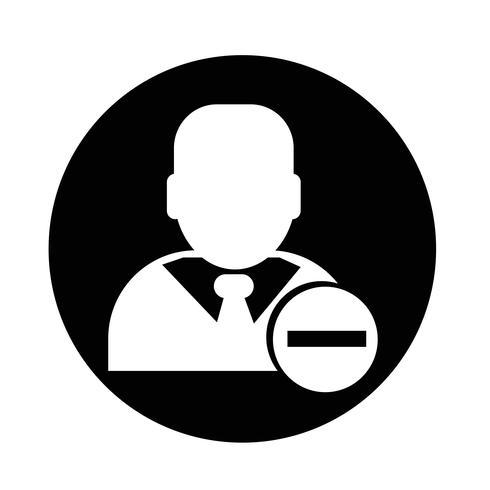 Icona di uomo d'affari