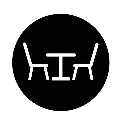 Icono de mesa con sillas