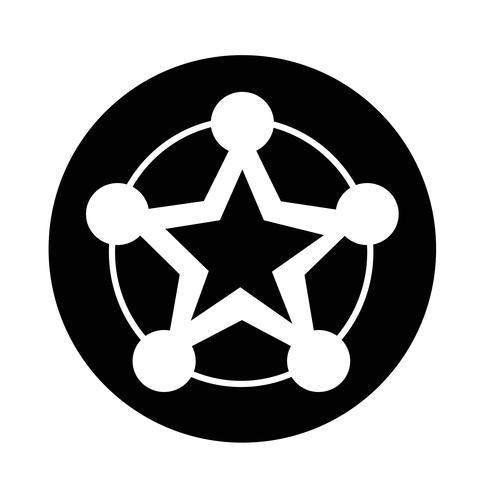 Netwerkpictogram vector