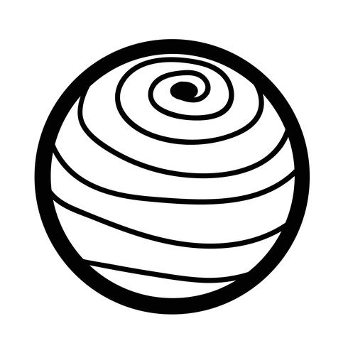 Sphere abstract  icon