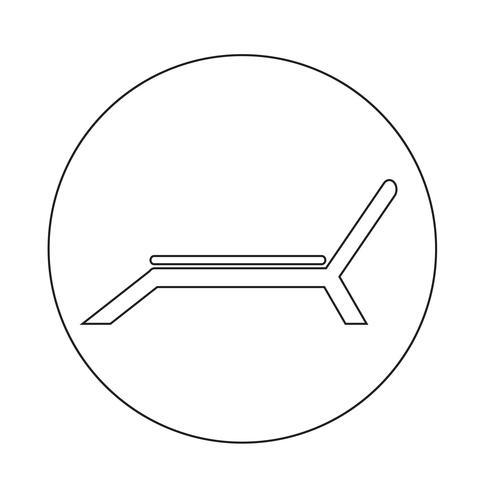 Strandkorb-Symbol