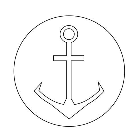 Icona di ancoraggio