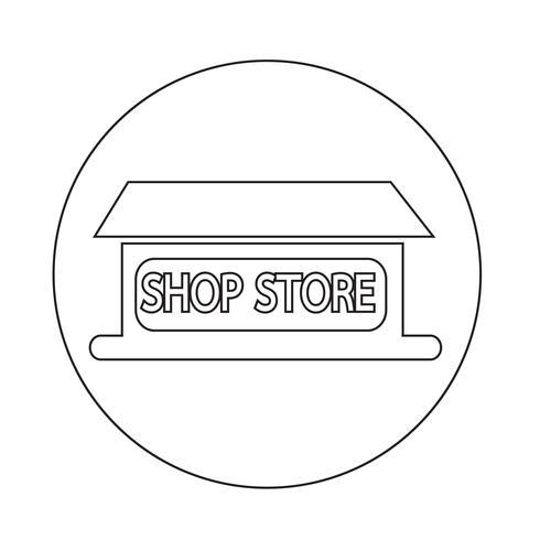 Icona del negozio negozio