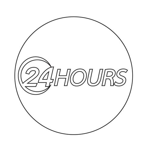 24 Stunden-Symbol