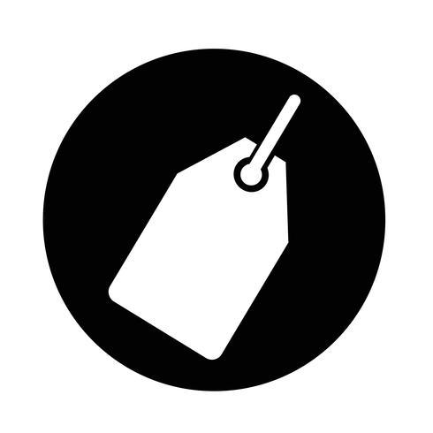 Icona di tag in vendita
