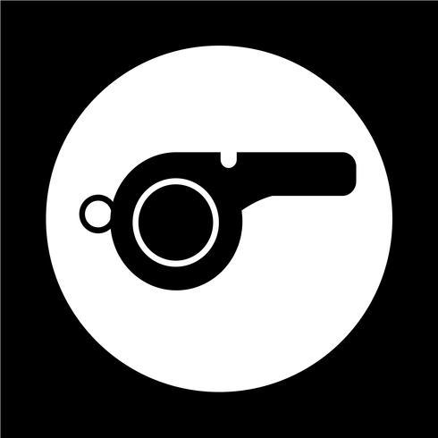 Icono de silbato