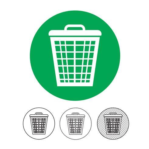 Mülleimer-Symbol