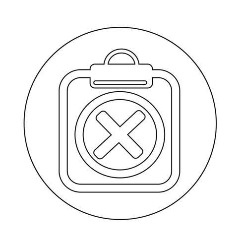 Urklipp ikon