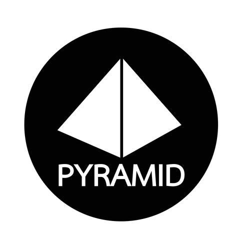 Pyramid icon - Download Free Vectors, Clipart Graphics ...
