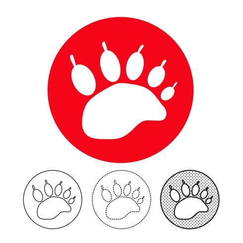 狗腳印圖案 免費下載 | 天天瘋後製