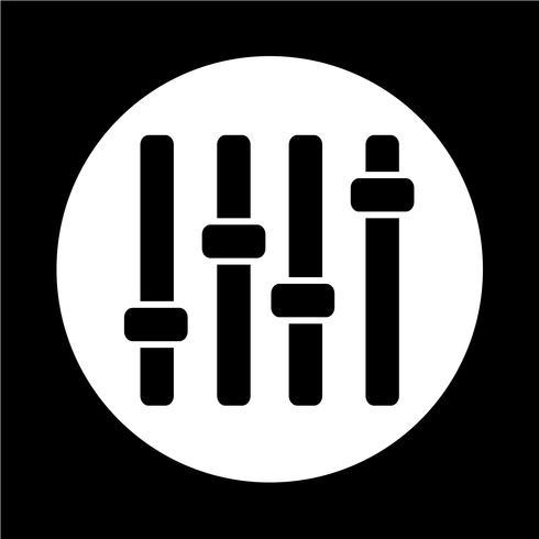 bedieningspaneel pictogram