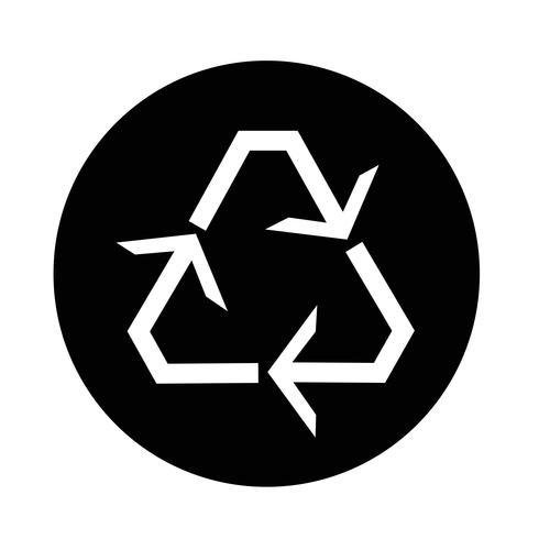 Icono de reciclaje vector