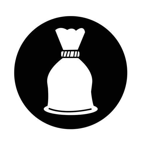 Ícone de saco de dinheiro