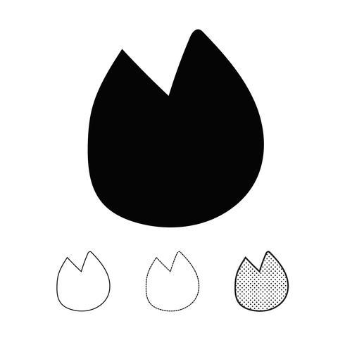 Dierlijke voetafdruk Icon Vector