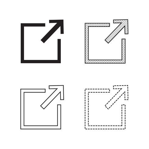 Pil ikon vektor