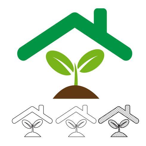 Plant boom pictogram vector