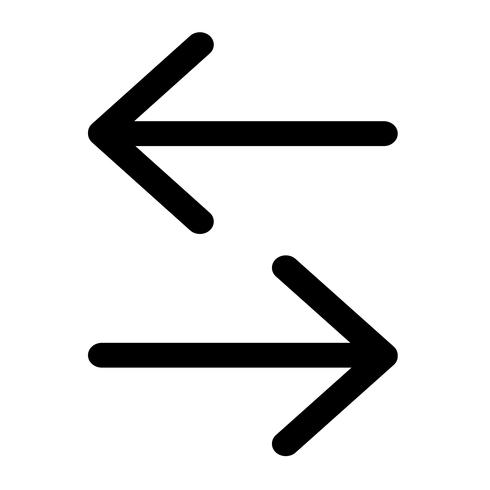Vecteur d'icône flèche