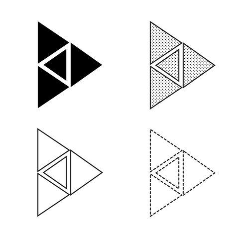 Pijl pictogram vector