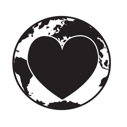 Herz-Vektor-Symbol