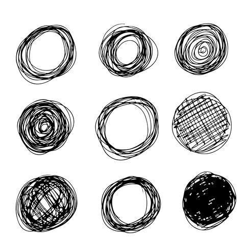 trazo de línea de dibujar a mano