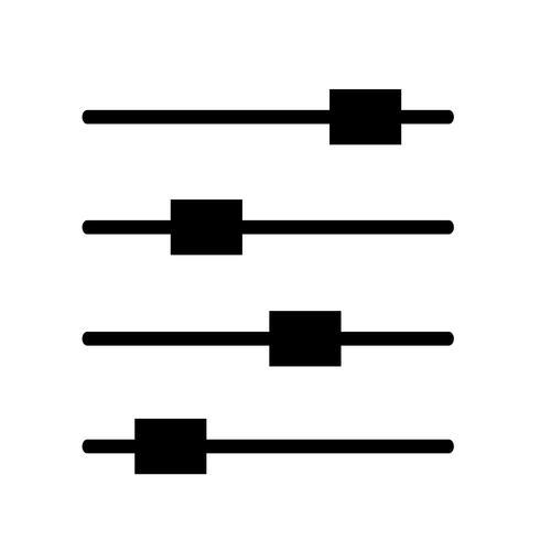 Segno dell'icona di controllo