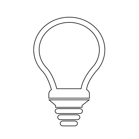 Sign of Bulb icon