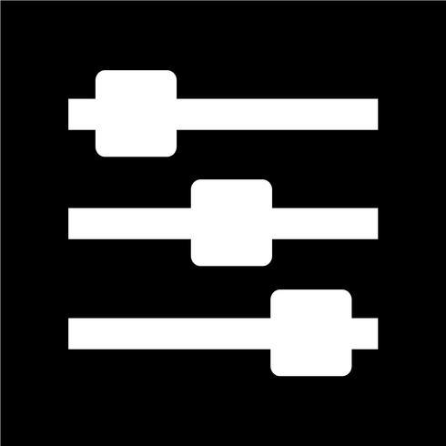 Sinal, de, controle, ícone