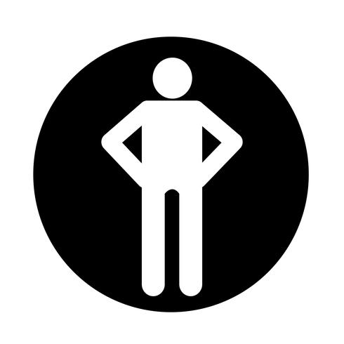 Human Action  Icon vector